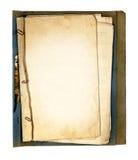 Teile des alten Buches Stockfotos
