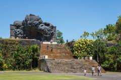 Teile des Monuments Stockfotos
