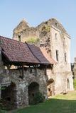 Teile des Schlosses Schaumburg - Österreich Stockbilder