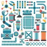 Teile für Maschine Lizenzfreie Stockfotografie