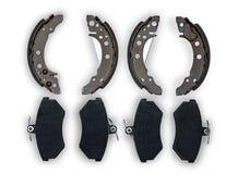 Teile für Bremsanlage Lizenzfreie Stockbilder