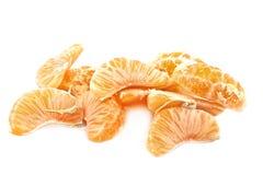Teile tangerin Lizenzfreies Stockfoto
