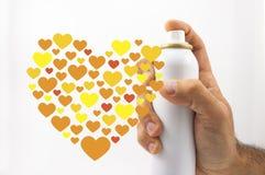 Teilen Sie die Liebe Stockfotografie