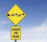Teilen Sie die Straße Lizenzfreies Stockbild