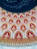 Teilnehmer des Chores von Engeln Stockbilder