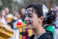 Teilnehmer des Karnevals lizenzfreies stockbild