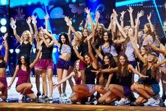 Teilnehmer des Schlusses des 17. nationalen Festivals von Talenten Lizenzfreies Stockfoto