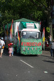 Teilnehmer am Karneval-der Kulturen Lizenzfreies Stockfoto