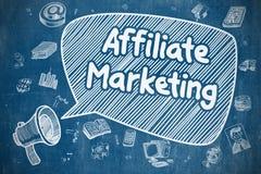 Teilnehmer-Marketing - Geschäfts-Konzept lizenzfreie abbildung