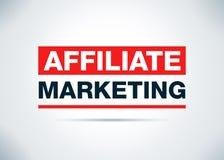 Teilnehmer-Marketing-Zusammenfassungs-flache Hintergrund-Entwurfs-Illustration stock abbildung