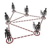 Teilnehmermarketing Vektor Abbildung