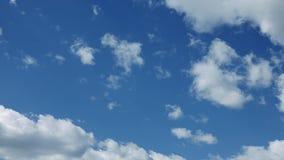 Teils bewölktes und Wetter timelapse stock footage