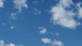 Teils bewölktes und Wetter timelapse stock video