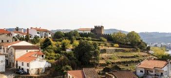 Teilweise Ansicht Sertã der alten Stadt lizenzfreie stockbilder