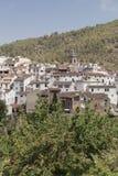 Teilweise Ansicht von AÃn, CastellÃ-³ n, Spanien lizenzfreies stockfoto