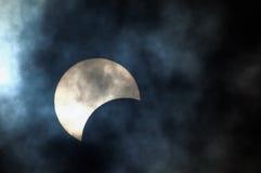 Teilweise Solareklipse Lizenzfreie Stockfotografie