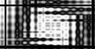 Teilweiser Glasblock-Hintergrund Stockfoto