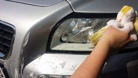 Teinture de fenêtre de voiture Photo libre de droits