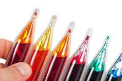 Teinture pour des oeufs de pâques Images stock