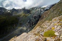 teischnitz ледника Стоковые Изображения