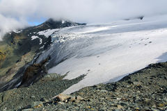 Teischnitz Glacier Royalty Free Stock Photos