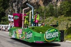 Teisseire卡车 免版税库存照片