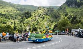 Teisseire lastbil - Tour de France 2014 Royaltyfri Fotografi