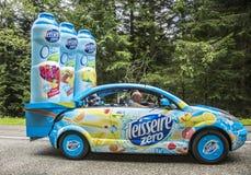 Teisseire pojazd - tour de france 2014 Obrazy Royalty Free