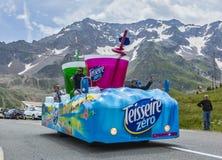 Teisseire pojazd - tour de france 2014 zdjęcie royalty free