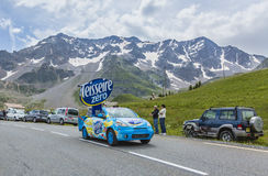 Teisseire Vehicle - Tour de France 2014 Royalty Free Stock Photo