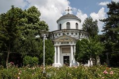 Teiul Doamnei Ghika kyrka, Bucharest Royaltyfria Bilder