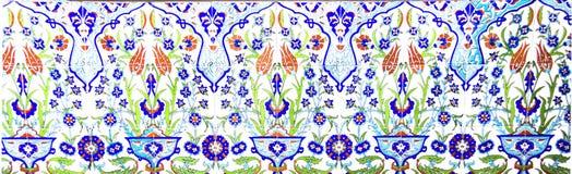 Teja artística turca de la pared Imágenes de archivo libres de regalías