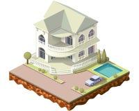 Teja cottage3 Imagen de archivo libre de regalías