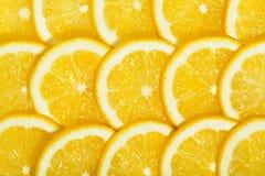 Teja de las rebanadas de los limones Imagenes de archivo