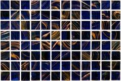Teja de mosaico coloreada Imagen de archivo
