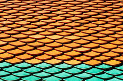 Teja de tejado Foto de archivo libre de regalías
