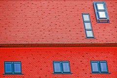 Teja de tejado con las ventanas 3 Imágenes de archivo libres de regalías