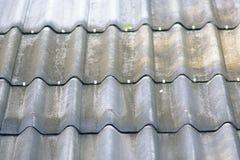 Teja de tejado verde Imagen de archivo