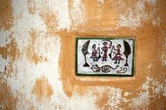 Teja decorativa Fotografía de archivo