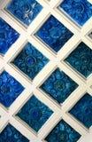 Teja decorativa de la porcelana Imagen de archivo