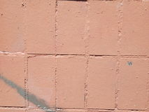 Teja del ladrillo de la textura para la arquitectura Imagen de archivo
