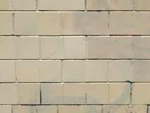 Teja del ladrillo de la textura para la arquitectura Foto de archivo libre de regalías