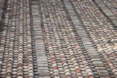 teja del material de construcción Foto de archivo