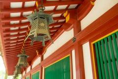 Teja del templo japonés foto de archivo