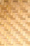 Teja el bambú Imagen de archivo