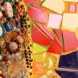 Teja esmaltada colorida Fotos de archivo libres de regalías