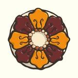 Teja floral Fotos de archivo libres de regalías