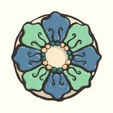 Teja floral Fotos de archivo