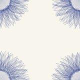 Teja floral con el girasol Fotos de archivo
