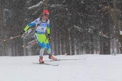 Teja Gregorin - biathlon Stock Photos